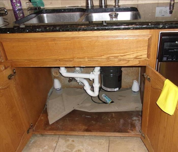 Sink Leak- SERVPRO of Grand Prairie is on it!